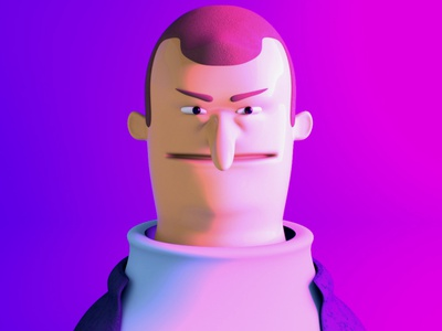 This Guy character design octane c4d