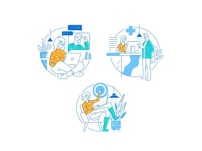 DokDok-ilustrations uiillustration ui vector design illustration