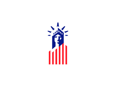 AMERICAN DREAM flag liberty statue usa