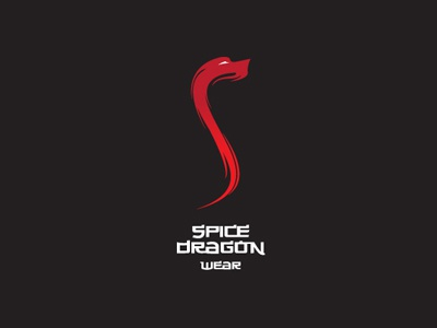 Spice Dragon logo branding yaceky wear