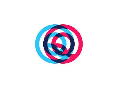 Q letters block capital letter q