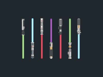 STAR WARS lightsabers VECTOR FREE!! vector free wars star lightsabre