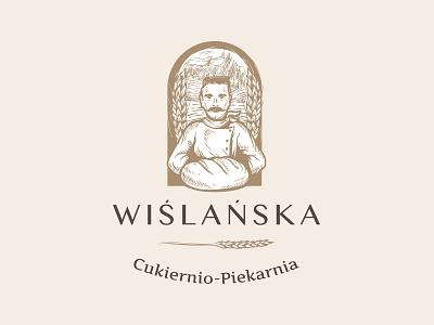 Wislanska Bakery mustache grain natural baker bread bakery