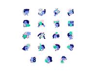 BRYKACZE icons set