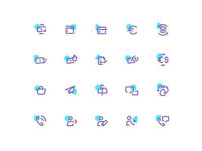 FERPAY icons set ux ui flat icon icons