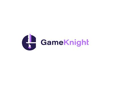 GameKnight g knight sword logo