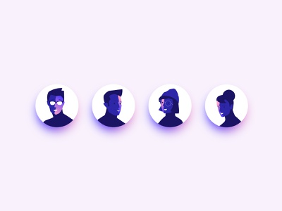 Avatars ui icon icons avatar illustration