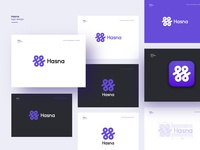 Hasna- logo design