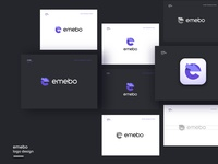 Emebo logo design v2