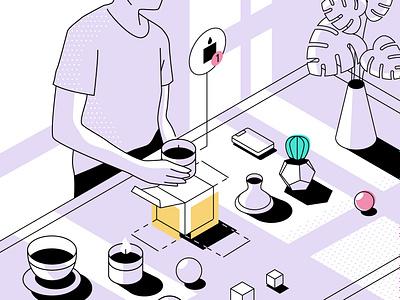 Packlane Illustration 5 0 ux vector ui design illustration