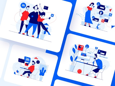 Meetfelix.com illustrations set 2 graphic visual illustration art illustrations illustrator ui vector design illustration