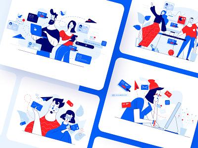 Meetfelix.com illustrations set 4 illustration art illustrator ui design vector illustration