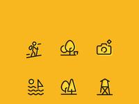 Przygoda icon set maxi dribbble hamak copy 2