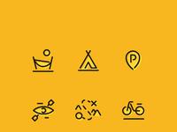 Przygoda icon set maxi dribbble hamak copy