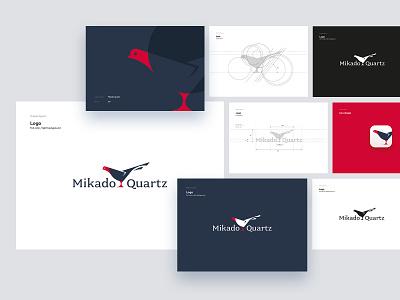 Mikado Quartz Logo v2 font animal tonik branding typography icon vector lettering design illustration logo