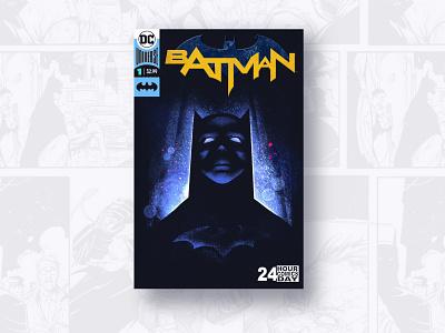 Batman Cover FanArt illustration illustrator procerate design fanart cover batman