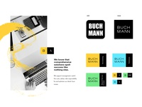 Buchmann- CI redesign