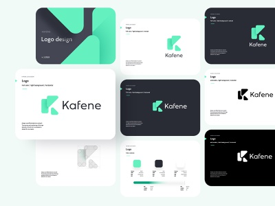 Kafene Logo Design tonik branding typography ui icon vector design illustration logo