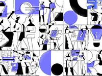The 'Coalition Builder' Illustrations Set