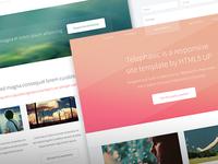 Telephasic web design web freebie