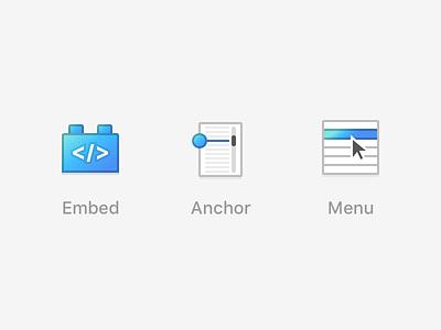 Sparkle - Icons sketch icons menu anchor embed sparkle macos