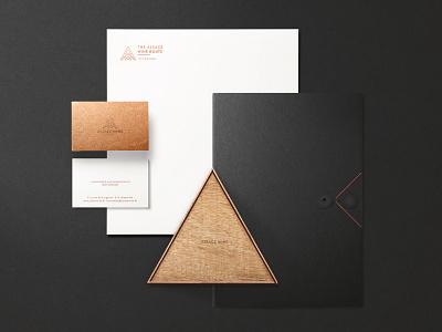 Alsace Wine l Branding Indentity packaging corporate luxury businesscard yaligya wine triangle logo indentity branding brand