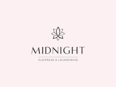 Midnight Logo brand luxurybrand luxurylogo logo luxury midnight yaligya symbol mark branding elegant fashionable
