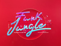 Funk Jungle Typography