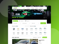 Homepage Car Dealer Concept