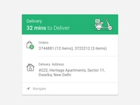 Delivery App Exploration