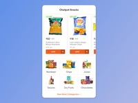 Product & Category Scroll Widget