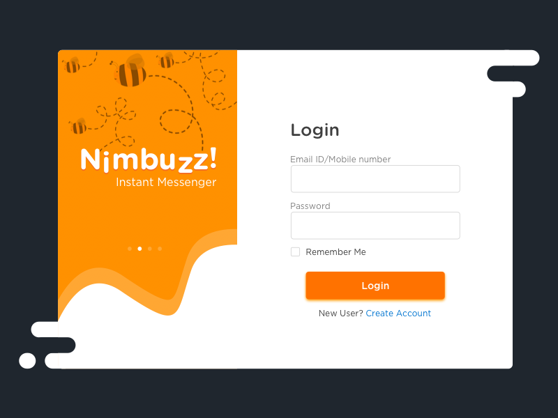 Sign Up and Login by Rajat Budakoti on Dribbble