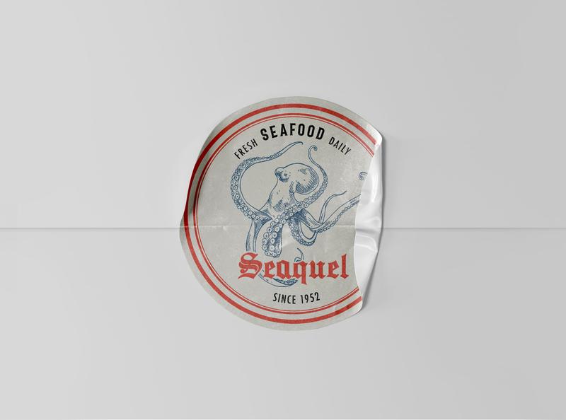 Seaquel branding project vector icon logo branding