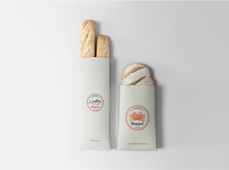 Seaquel branding projectArtboard 6 packaging design illustration minimal design logo icon branding