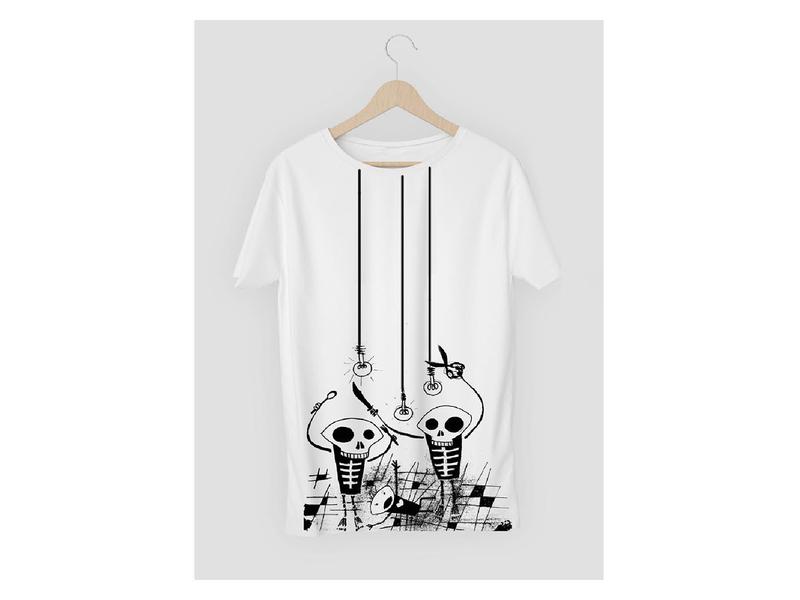 Illustrated tshirt graphics minimal tshirt design print design illustration graphic design