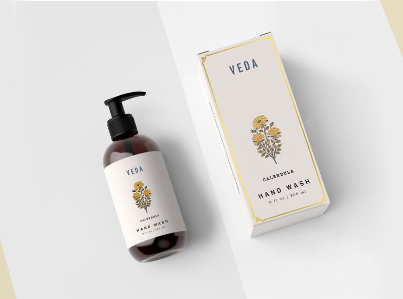 Veda print design logo packaging design graphic minimal graphic design design branding