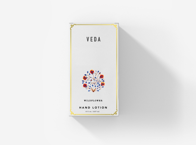 Veda luxury brand white print design packaging design graphic minimal graphic design design branding