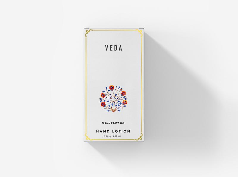 Veda luxury brand white print design packaging design graphic minimal graphic design design branding