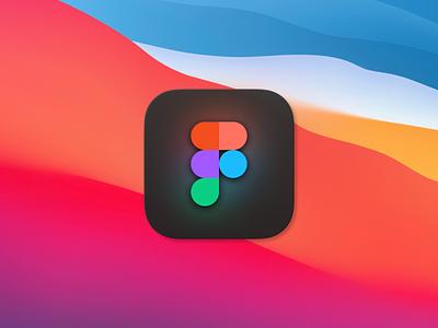 Figma Big Sur Icon traslucent icon big sur figma