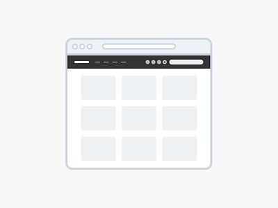 Dribbble dribbble minimal illustration icon flat