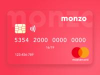 Monzo - Card Concept
