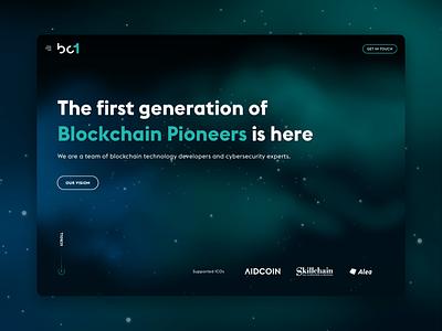 BC1 - Blockchain Pioneers blockchain pioneers crypto cryptocurrency web ico blockchain bc1