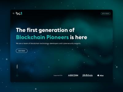 BC1 - Blockchain Pioneers