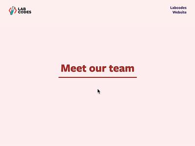 Link Hover | Labcodes website ux ui software studio hover link webdesign website