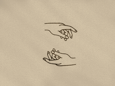 FEEL ilustration hands minimal