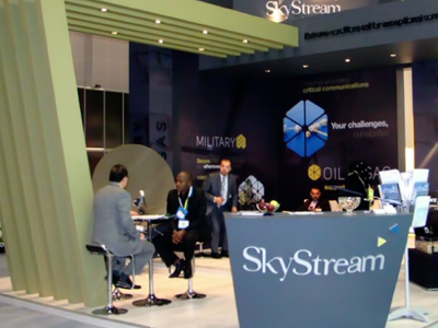 Skystream Stand exhibition stand