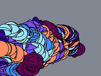 Generative Mouse Art visual art generative art mouse gray shapes ellipse colors colorful