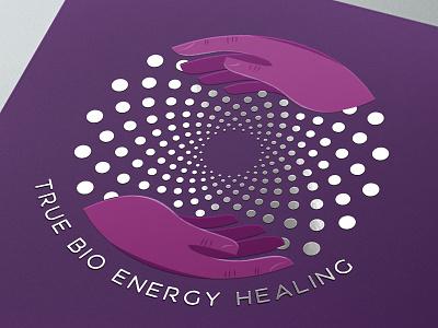 True Bio Energy Healing hands healing bio energy logo