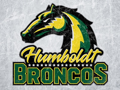 Humboldt Broncos horse stars logo hockey broncos humboldt