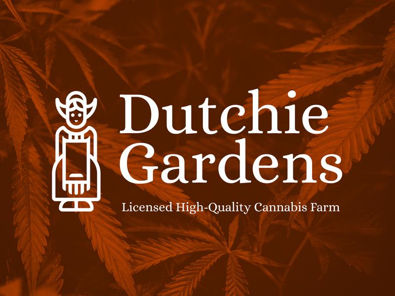 Dutchie Gardens marijuana farm gardens icon logo dispensary weed legalization canada dutch cannabis